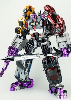 TransFormMission M01 HAVOC Auto Samurai Combiner Set (Metallic Version)