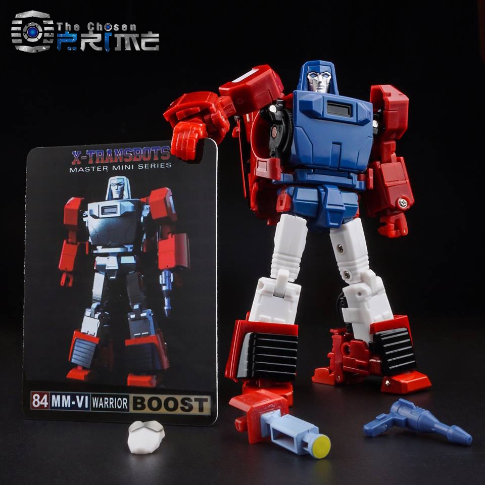 New Transformers Mini Series X-Transbots 84 MM-III Hoss GoBots in Stock