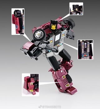 X-Transbots MX-15T DEATHWISH (Youth Version)