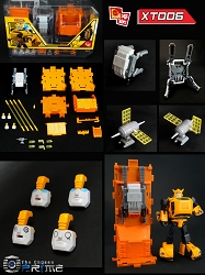 X2Toys XT006 Jetpack and Accessories Upgrade kit for MP-21 Bumblebee
