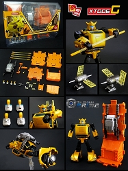 X2Toys XT006G Jetpack and Accessories Upgrade kit for MP-21G G2 Bumblebee