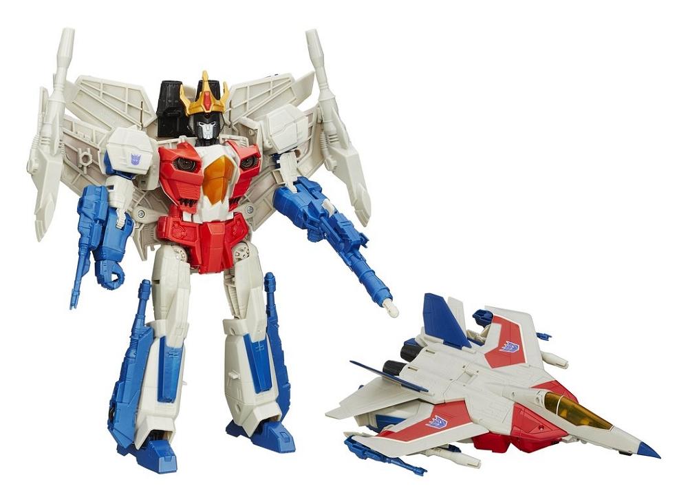 Transformers Generations Combiner Wars Leader Class Starscream Action Figure