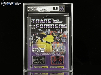 Transformers AFA 8.0 G1 Reissue Ravage & Rumble