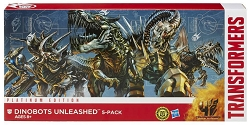 Hasbro Dinobots Unleashed 5-pack
