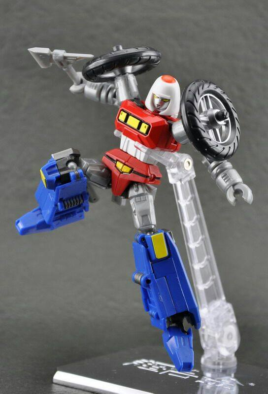 Action Toys Machine Robo Mr 01 Bike Robo