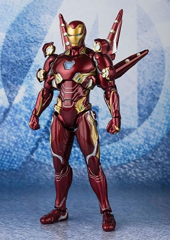 S.H. Figuarts Avengers: End Game IRONMAN MK50 (Nano Weapon Set 2)