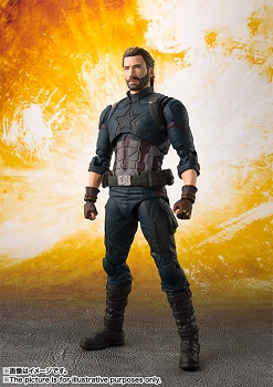 S.H. Figuarts Avengers Infinity War: CAPTAIN AMERICA / NOMAD