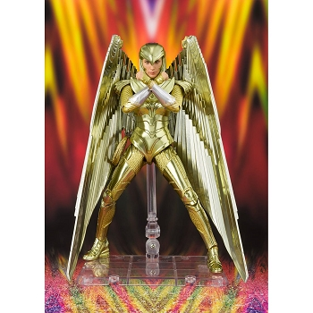 S.H. Figuarts WONDER WOMAN '84 GOLDEN ARMOR