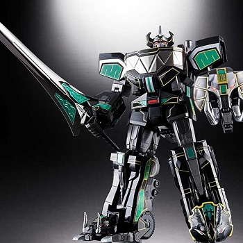 Bandai Soul of Chogokin GX-72B MEGAZORD Black Version