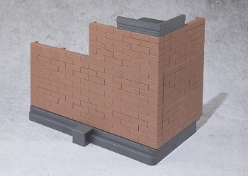 S.H. Figuarts Tamashii Option BRICK WALL (BROWN)