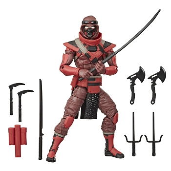 G.I. Joe Classified Series RED NINJA