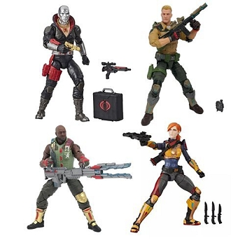 G.I. Joe Classified Series Wave 1 Figures (Set of 5)