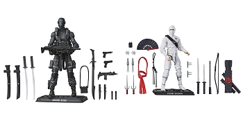 G.I. Joe Retro Series Snake Eyes and Storm Shadow Set