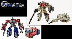 Hasbro Combiner Wars - Voyager Optimus Prime and SilverBolt