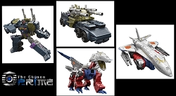 Hasbro Combiner Wars - Voyager 2016 Wave 2 Onslaught and Skylynx