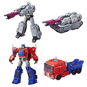 Hasbro Transformers Cyberverse Wave 1 ULTIMATE Class Set of 2