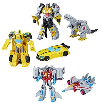 Hasbro Transformers Cyberverse Wave 1 ULTRA Class Set of 3