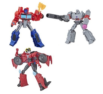 Hasbro Transformers Cyberverse Wave 2 WARRIOR Class Set of 3