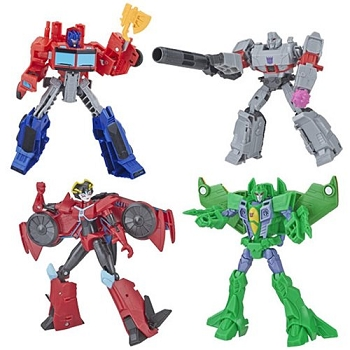 Hasbro Transformers Cyberverse Wave 2 WARRIOR Class Set of 4