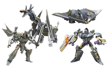 Hasbro The Last Knight - Premier Edition Deluxe SKULLITRON and MEGATRON
