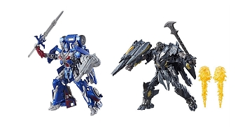 Hasbro The Last Knight - Premier Edition Leader OPTIMUS PRIME & MEGATRON