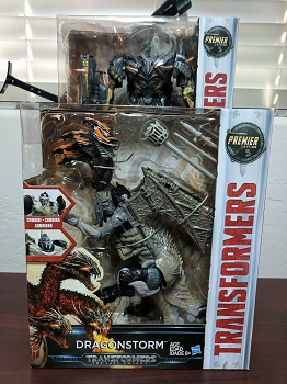 Hasbro The Last Knight - Premier Edition Leader MEGATRON & DRAGONSTORM