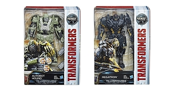 Hasbro The Last Knight - Premier Edition Voyager HOUND & MEGATRON