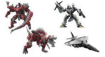 Hasbro The Last Knight - Premier Edition Voyager SCORN & NITRO
