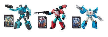 Hasbro Titans Return Deluxe Wave 4 TOPSPIN, SERGEANT KUP, & PERCEPTOR (Set of 3)