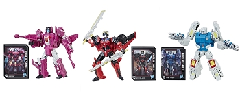 Hasbro Titans Return Deluxe Wave 5 MISFIRE, WINDBLADE, & TWIN TWIST Set