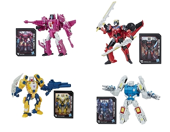 Hasbro Titans Return Deluxe Wave 5 MISFIRE, WOLFWIRE, WINDBLADE, & TWIN TWIST Set