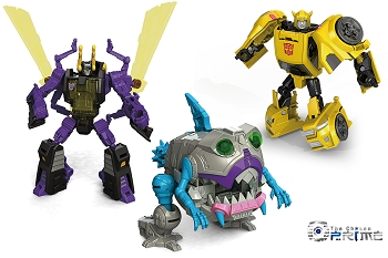 Hasbro Titans Return Legends Wave 3 SET (Bumblebee, Gnaw and Kickback)