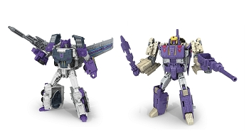 Hasbro Titans Return Voyager BLITZWING & OCTONE Set