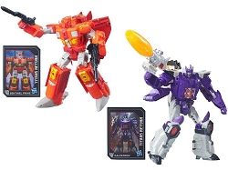 Hasbro Titans Return Voyager Sentinel Prime and Galvatron