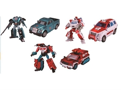 Henkei AUTOBOT WARRIOR GROUP - RATCHET, KUP & PERCEPTOR