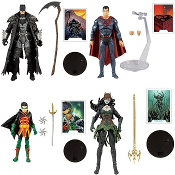 McFarlane Toys DC Multiverse Wave 4 Set of 4