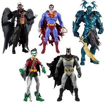 McFarlane Toys DC Multiverse Collector Wave 2 Set of 4 (The Merciless BAF)