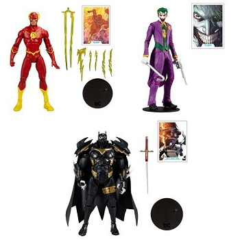 McFarlane Toys DC Multiverse Collector Wave 3 Set of 3
