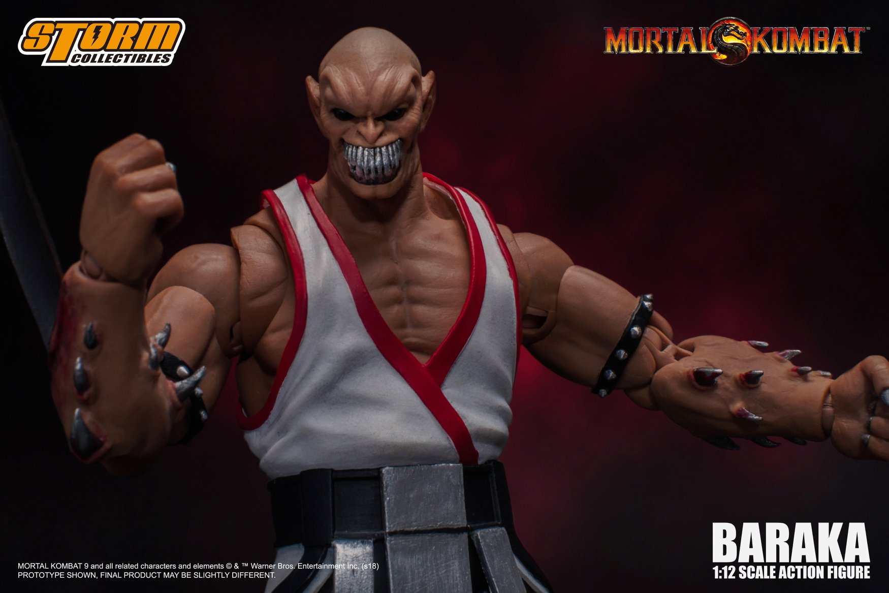 Storm Collectibles Mortal Kombat BARAKA