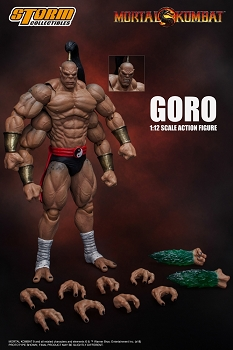 Storm Collectibles Mortal Kombat GORO