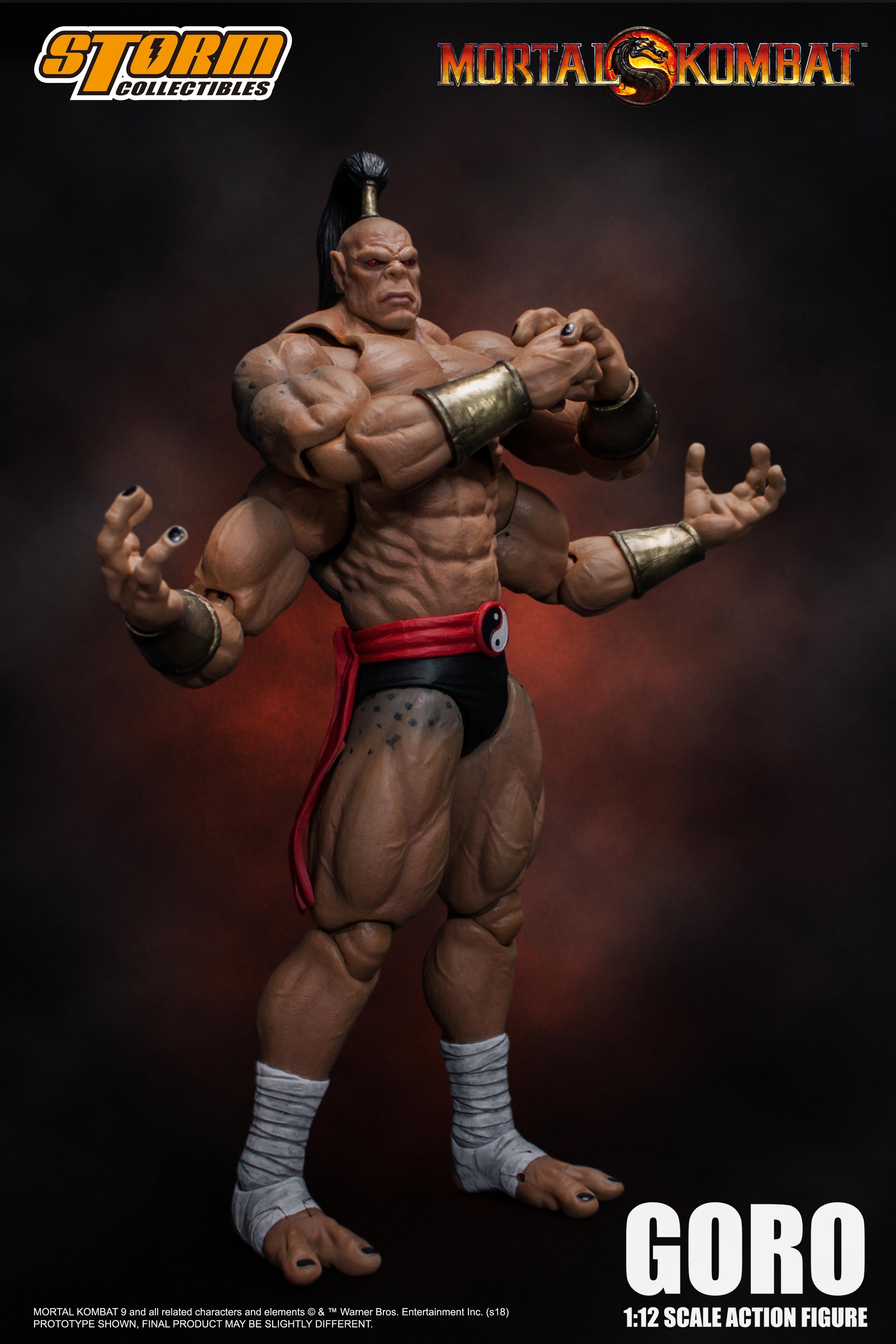 Storm Collectibles Mortal Kombat Goro