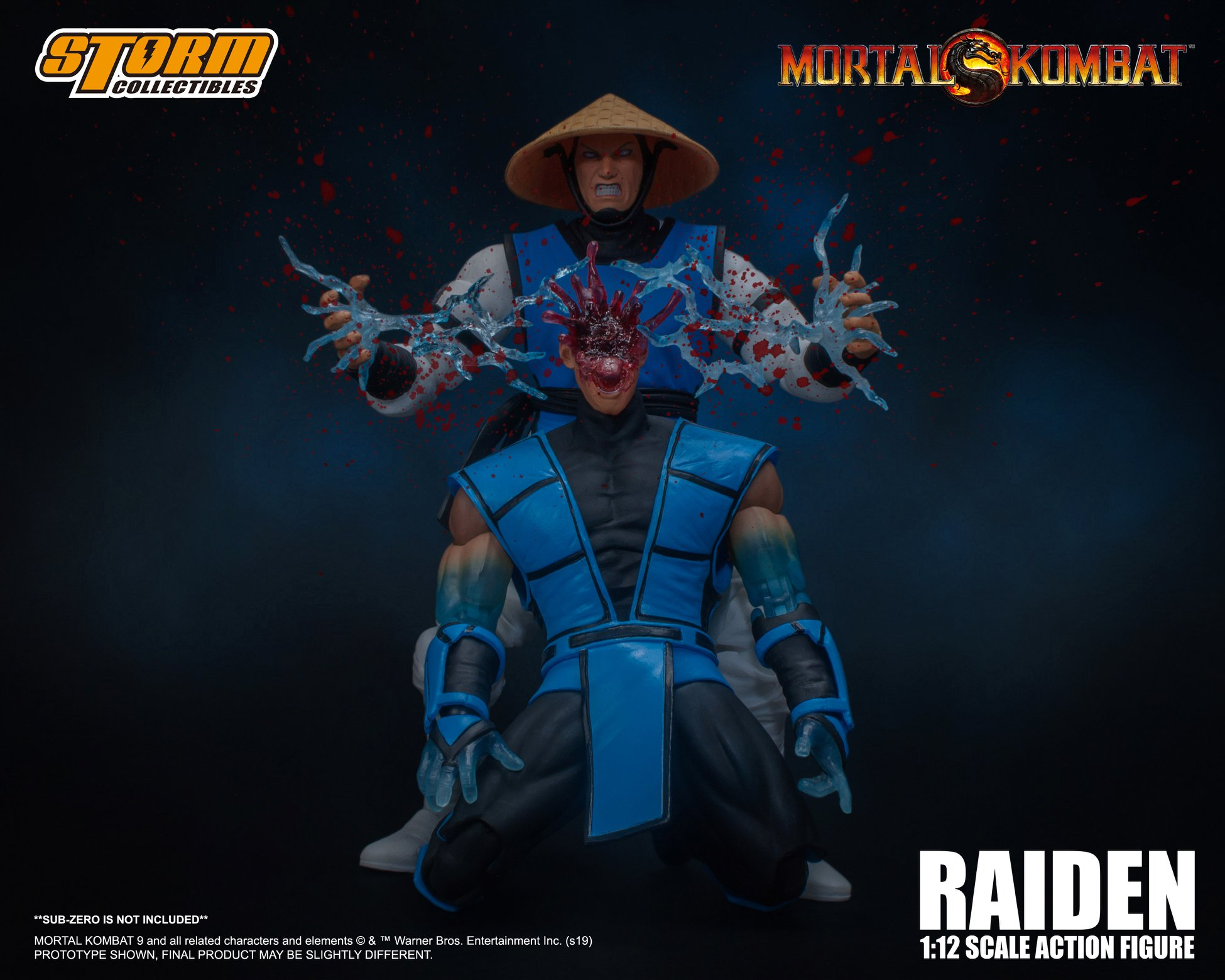 Storm Collectibles Mortal Kombat Raiden