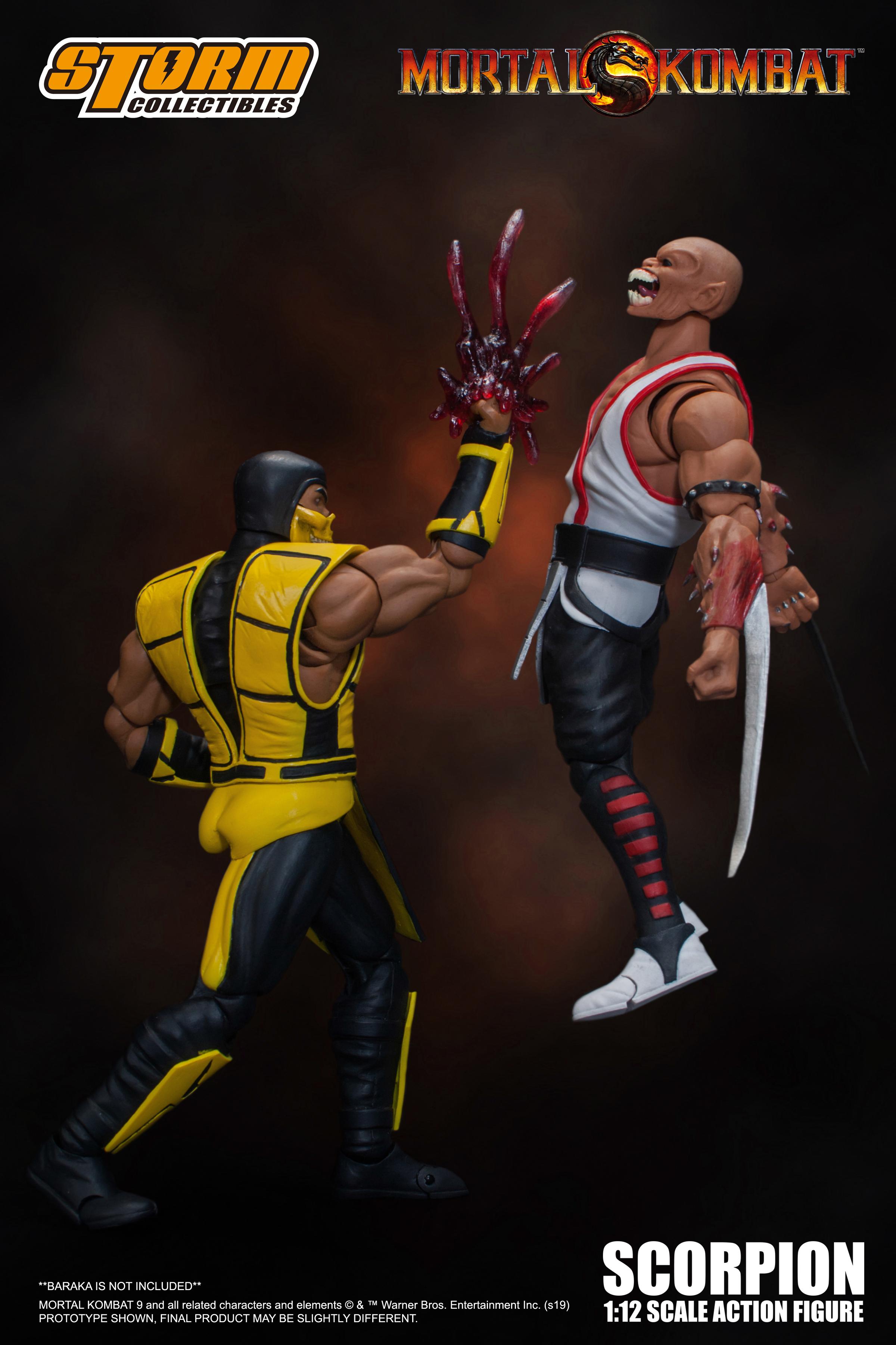 Storm Collectibles Mortal Kombat 3 Scorpion