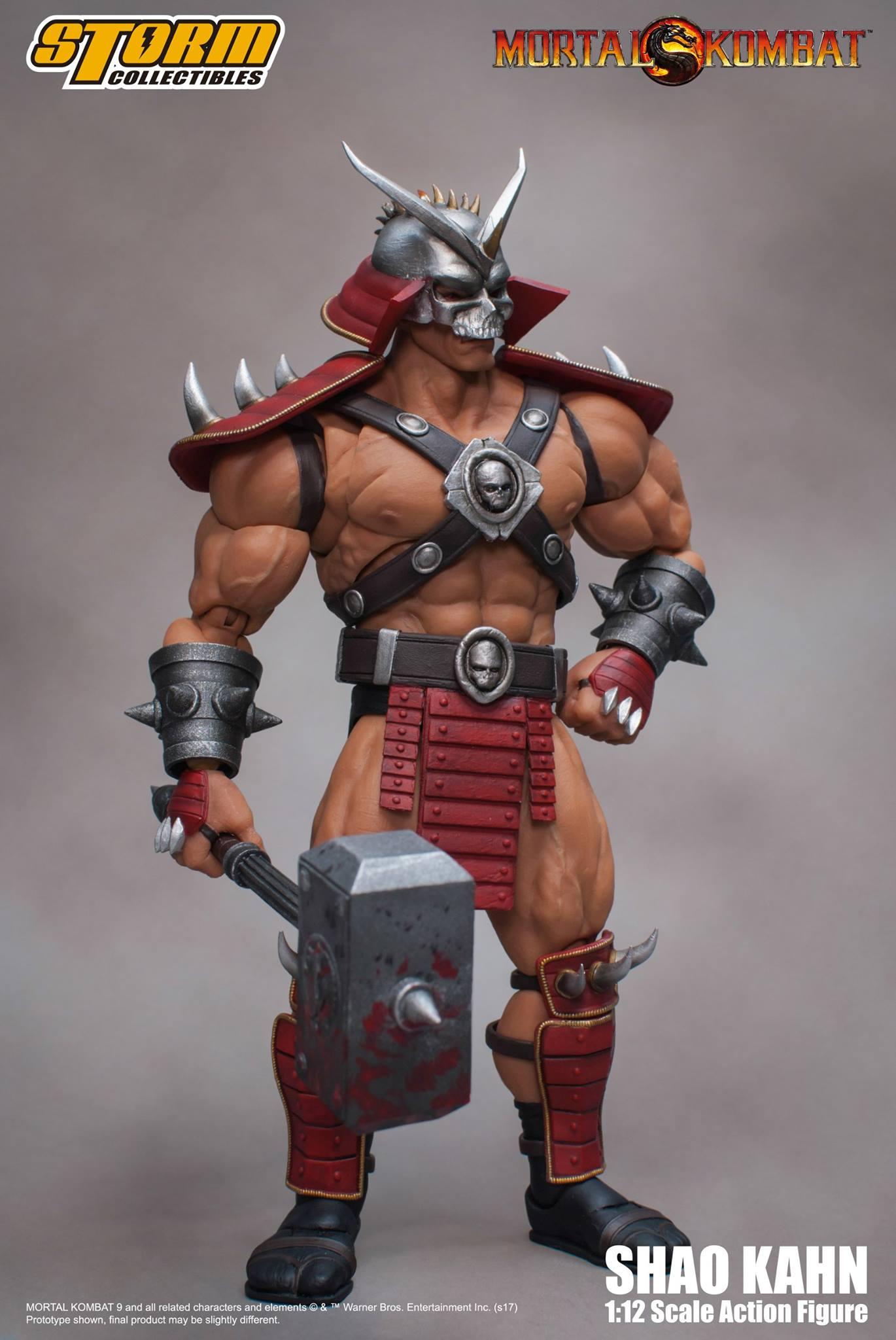 3dartpol blog  Mortal Kombat Movie Shao Kahn