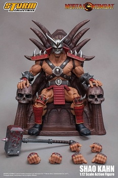Storm Collectibles Mortal Kombat SHAO KAHN & THRONE