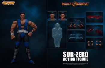 Storm Collectibles Mortal Kombat 3 VS Series SUB-ZERO (Unmasked)