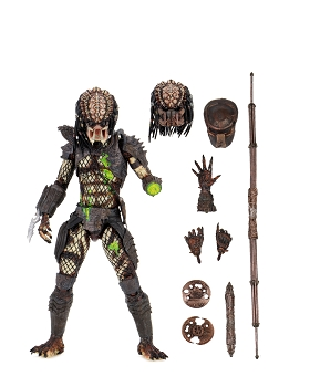 Neca Predator 2 - Ultimate Battle Damaged City Hunter