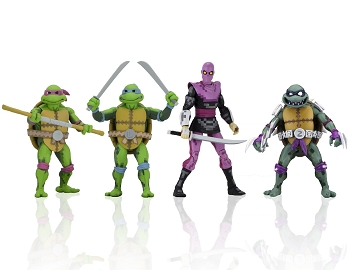 Neca TMNT Turtles in Time Series 1
