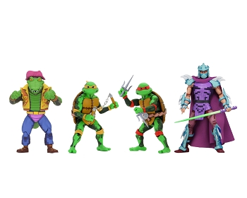 Neca TMNT Turtles in Time Series 2