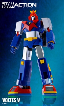 Action Toys Mini Action Series VOLTES V